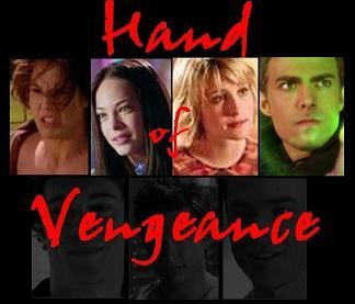 Lana, Byron, and the 'Hand of Vengeance' (supergroup idea for Lana; 12 collages)
