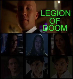 My Legion of Doom picks, Amy Palmer from 'Shimmer', Lex, and Bizarro (29 collages)
